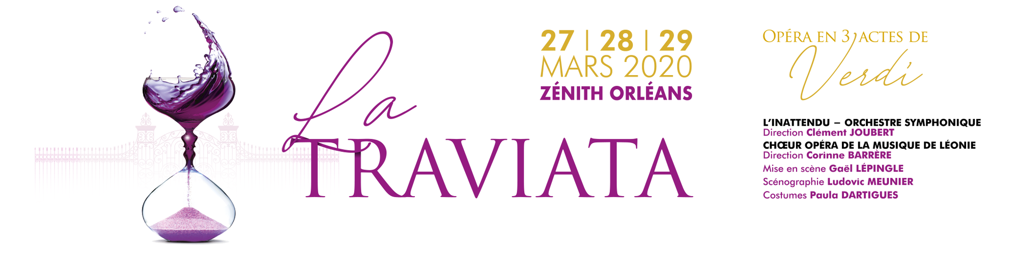 bandeau Traviata